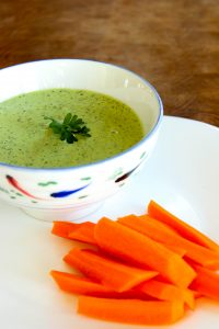 This Green Goddess dip (or dressing) is so fresh and bright tasting!