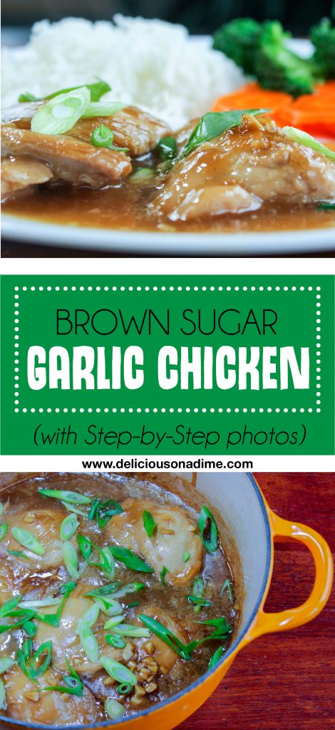 Brown Sugar Garlic Chicken - An easy, cheap and delicious meal