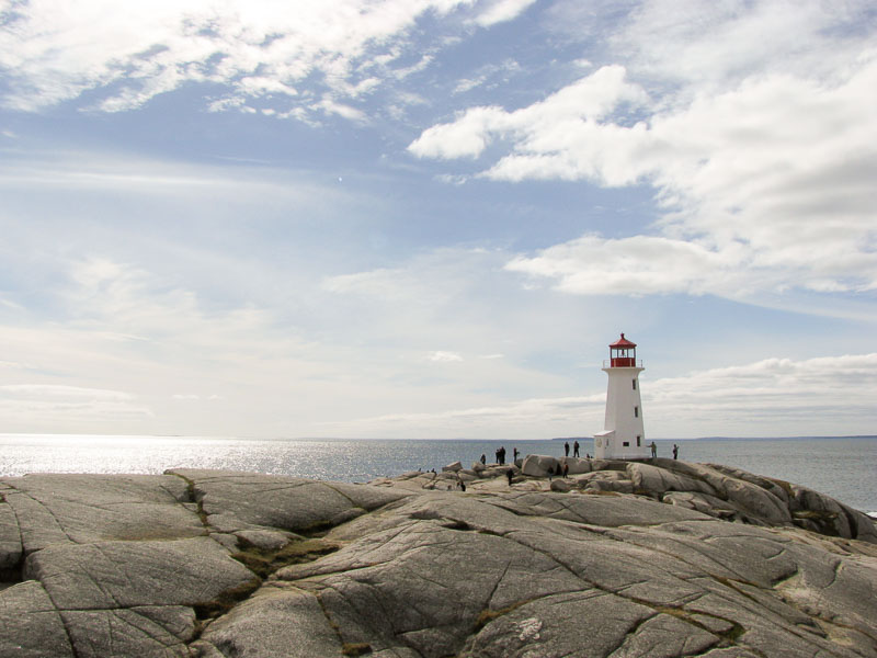 Peggy's Cove is spectacular and so is the Warm Gingerbread Cake with Salted Caramel Sauce at the restaurant there
