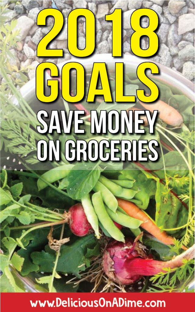 Save money on groceries in 2018, and meet your savings goals! The new year is a great time for resolutions and budgets, so check out our top 5 ways to save money on groceries, and 5 delicious recipes to keep you happy and full!