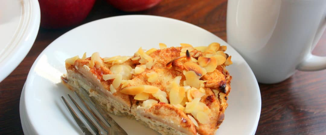This Harvest Almond and Apple Pie is to die for!