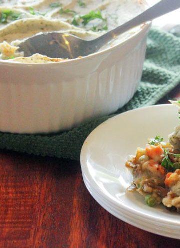 Vegetarian Ranch Shepherd's Pie (With Lentils!)