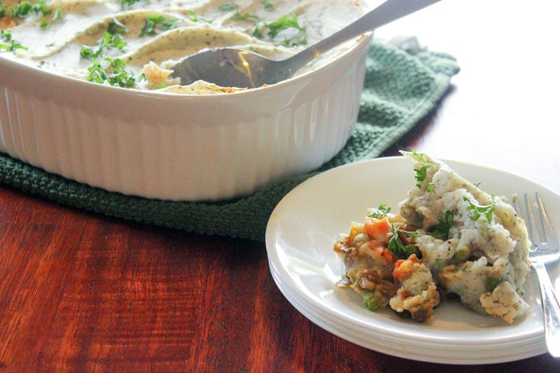 Vegetarian Ranch Shepherd's Pie (With Lentils!)