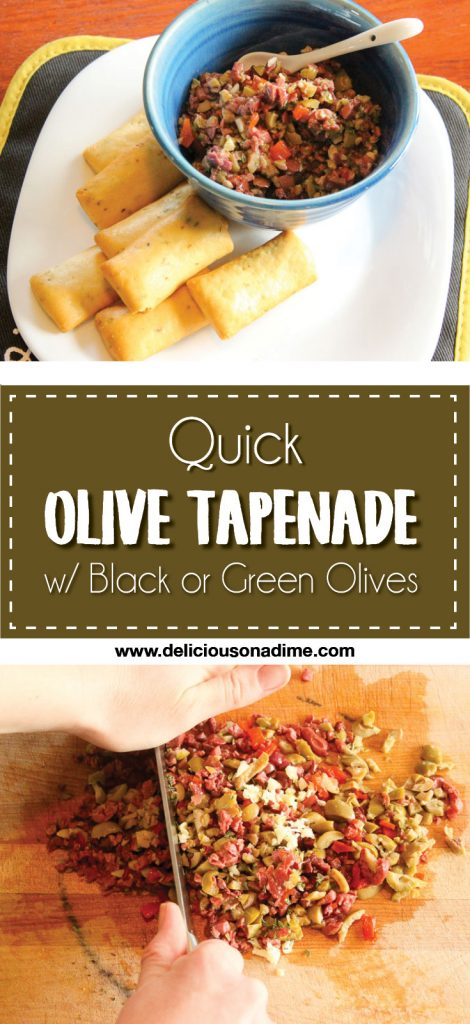 Quick Olive Tapenade