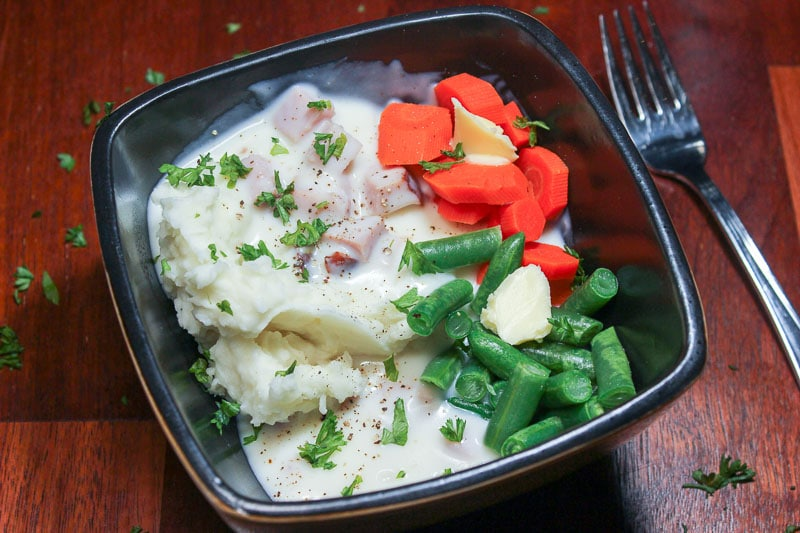 Creamed Ham (or turkey) – Just five simple ingredients!