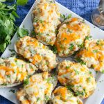 Easy Loaded Twice Baked Potatoes
