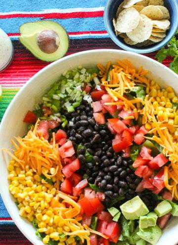 Healthy Mexican Salad