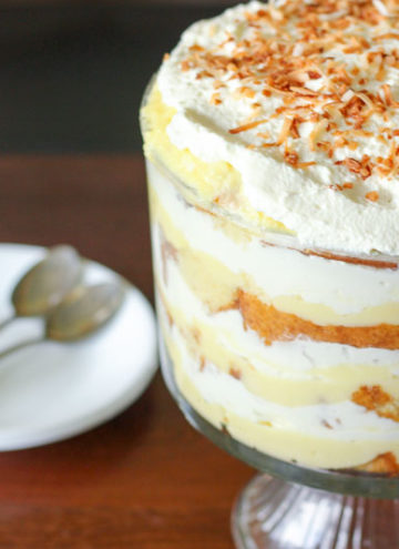 Easy Coconut Cream Trifle
