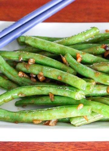 Fresh Asian-Style Green Beans