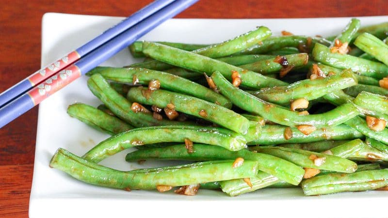 Fresh asian style green beans delicious on a dime for Style green
