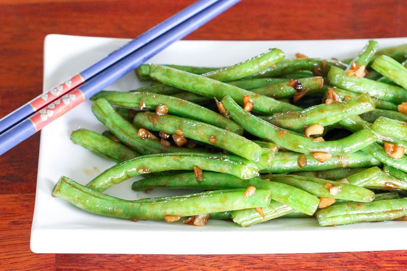 Fresh Asian-Style Green Beans