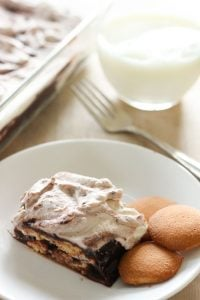 Easy Chocolate and Vanilla Icebox Cake