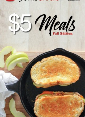 Five $5 Meals for Fall