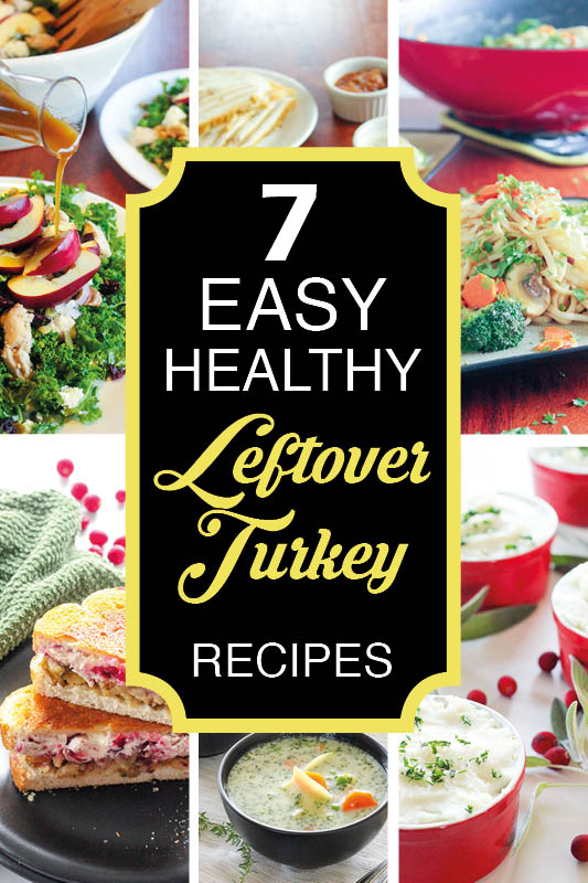 Six Leftover Turkey Recipes.