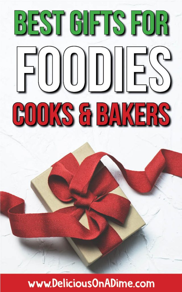 All the best gifts for foodies, cooks and bakers! Make someone's Christmas with these awesome ideas!