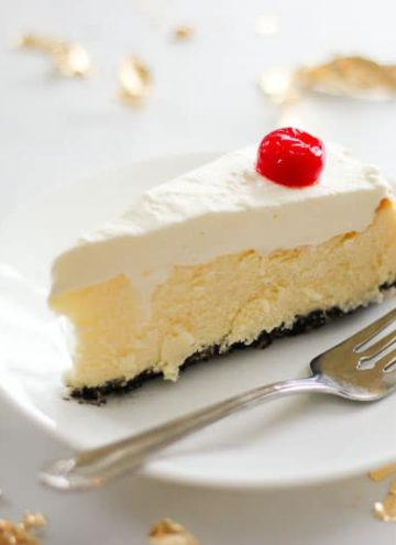 Chocolate Cherry Coconut Cheesecake – tastes like a cherry blossom!