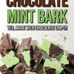 This Mint Chocolate Bark is so simple your kids could make it! No stove, and no expensive chocolate necessary! It's the perfect Christmas candy or holiday treat, and you can make it with inexpensive pantry staples!