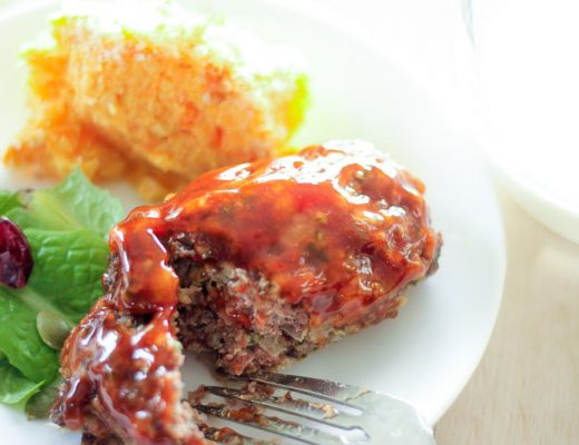Healthy Mini Meatloaves - Comfort Food For Your Freezer are delicious with mashed potatoes, our root vegetable bake, or salad
