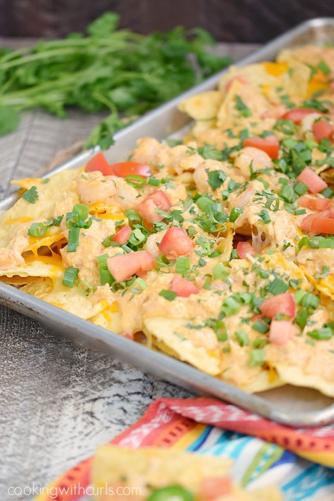 Seafood nachos from from 21 of the best nacho recipes that will rock your world