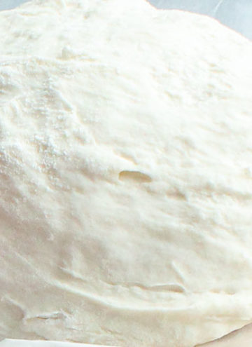 Thin Crust Pizza Dough (No Rise!)