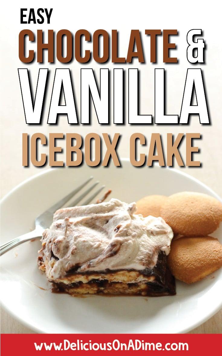 Chocolate And Vanilla Pudding Icebox Cake Recipe