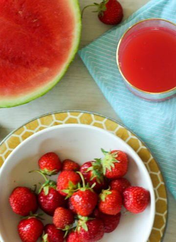 Strawberry Watermelon Punch