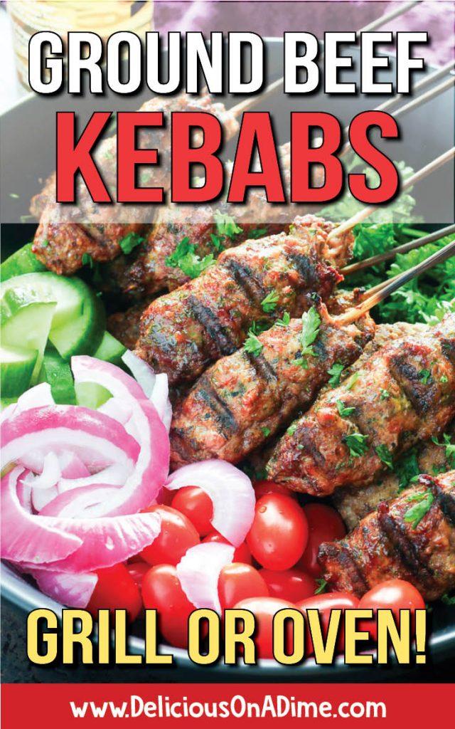 Ground Beef Kebabs Recipe