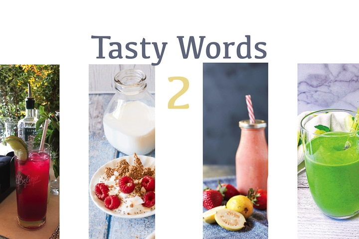 Preview of game app Tasty Words 2