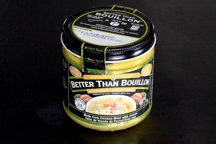 Jar of chicken Better Than Bouillon