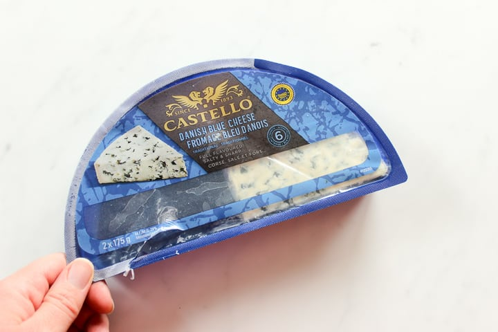 Large package of Castello blue cheese